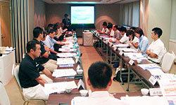 日本協会からJRFU戦略計画の説明