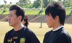 宮崎県出身で、女子日本代表に参加した三樹選手も参加