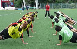 体幹トレーニング、ブリッジテスト