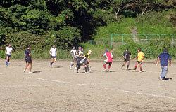 高校生同士の試合