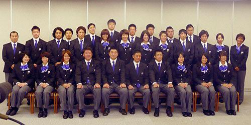 男女7人制日本代表が一緒に