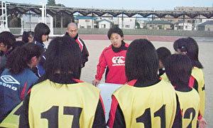 岩渕コーチよりトレーニングの狙いが説明されます