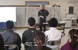 「江東区立元加賀小学校タグラグビー指導者講習会」実施報告