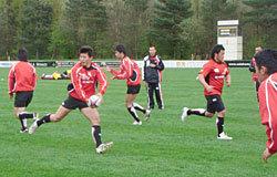 U20日本代表スコッド、スコットランド遠征(4/7-21)