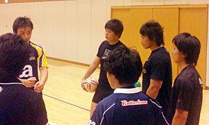 男子7人制日本代表「セレクション合宿」