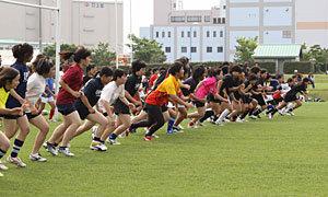 福岡ラグビーフットボールクラブ、セブンズのトライアウト&クリニックを実施