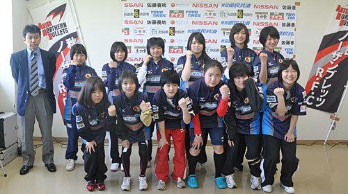 秋田ノーザンブレッツが女子チームを発足