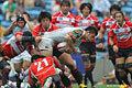 日本代表 49-7 トップリーグXV