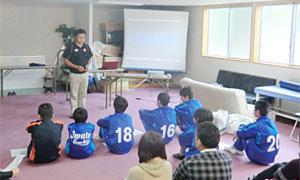 【セブンズブロックパートナー】釜石シーウェイブスRFC、「いわてスーパーキッズトライアル・体験教室」報告