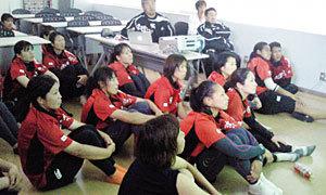 女子日本代表「5月19日 香港代表戦」直前合宿レポート