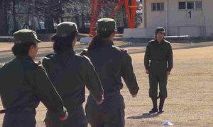 女子7人制日本代表第2次候補選手(トレーニングスコッド)強化合宿(自衛隊体験入隊)