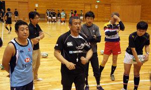東京セブンズ2013 セブンズラグビークリニック実施レポート